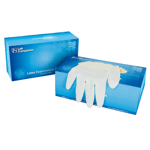 Latex Glove, Powder Free